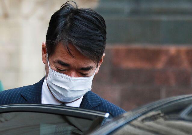 Japonya'nın Moskova Büyükelçisi Toyohisa Kozuki