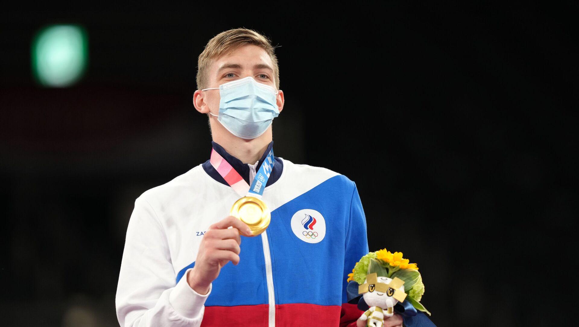 Tarihte ilk kez bir Rus, Olimpiyat Oyunları'nda tekvandoda birinci oldu - Sputnik Türkiye, 1920, 26.07.2021