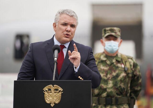 Kolombiya Devlet Başkanı Ivan Duque