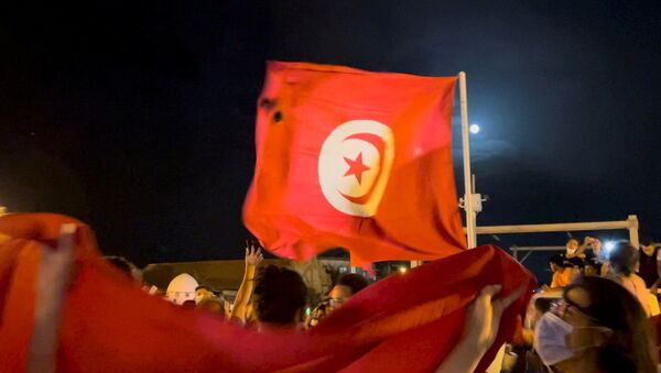 Tunus - protesto - Sputnik Türkiye