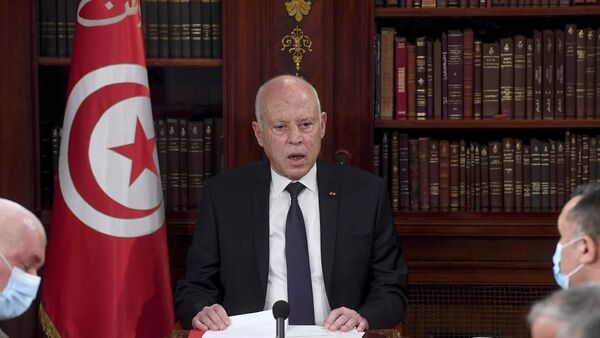 Tunus Cumhurbaşkanı Kays Said - Sputnik Türkiye