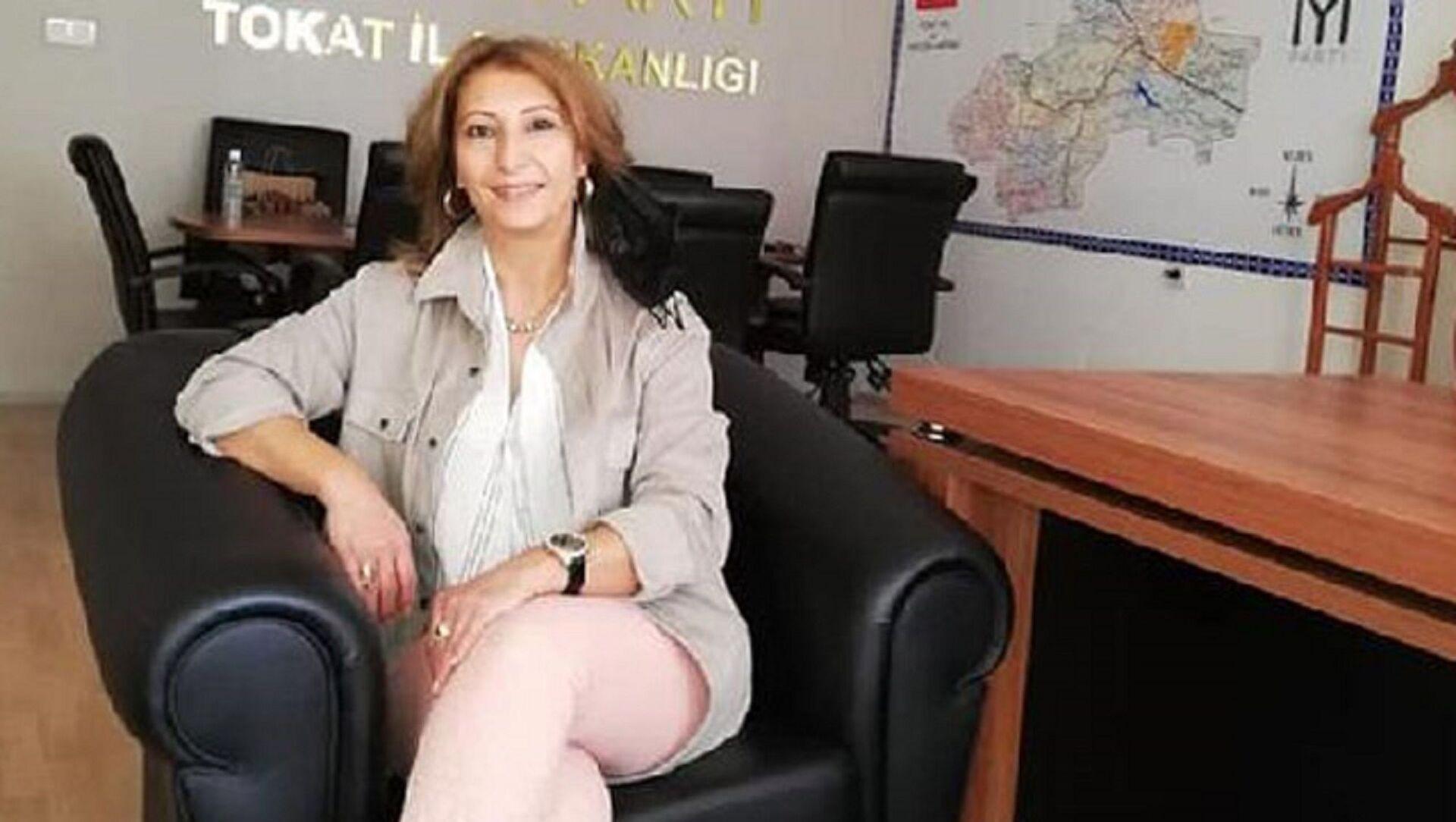 İYİ Parti Tokat İl Yönetim Kurulu üyesi Uğur Songül Sarıtaşlı  - Sputnik Türkiye, 1920, 27.07.2021