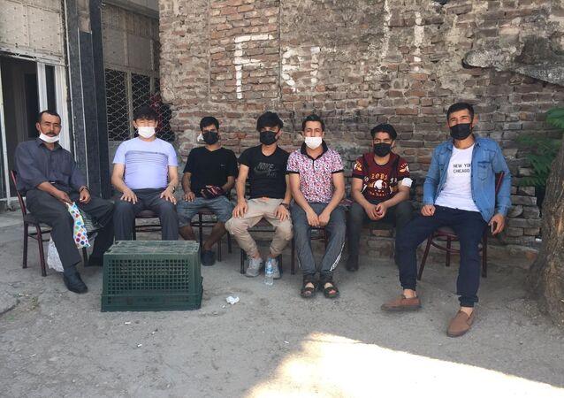 Afganistan'dan Türkiye'ye gelen mülteci - sığınmacı - göçmen - Ankara