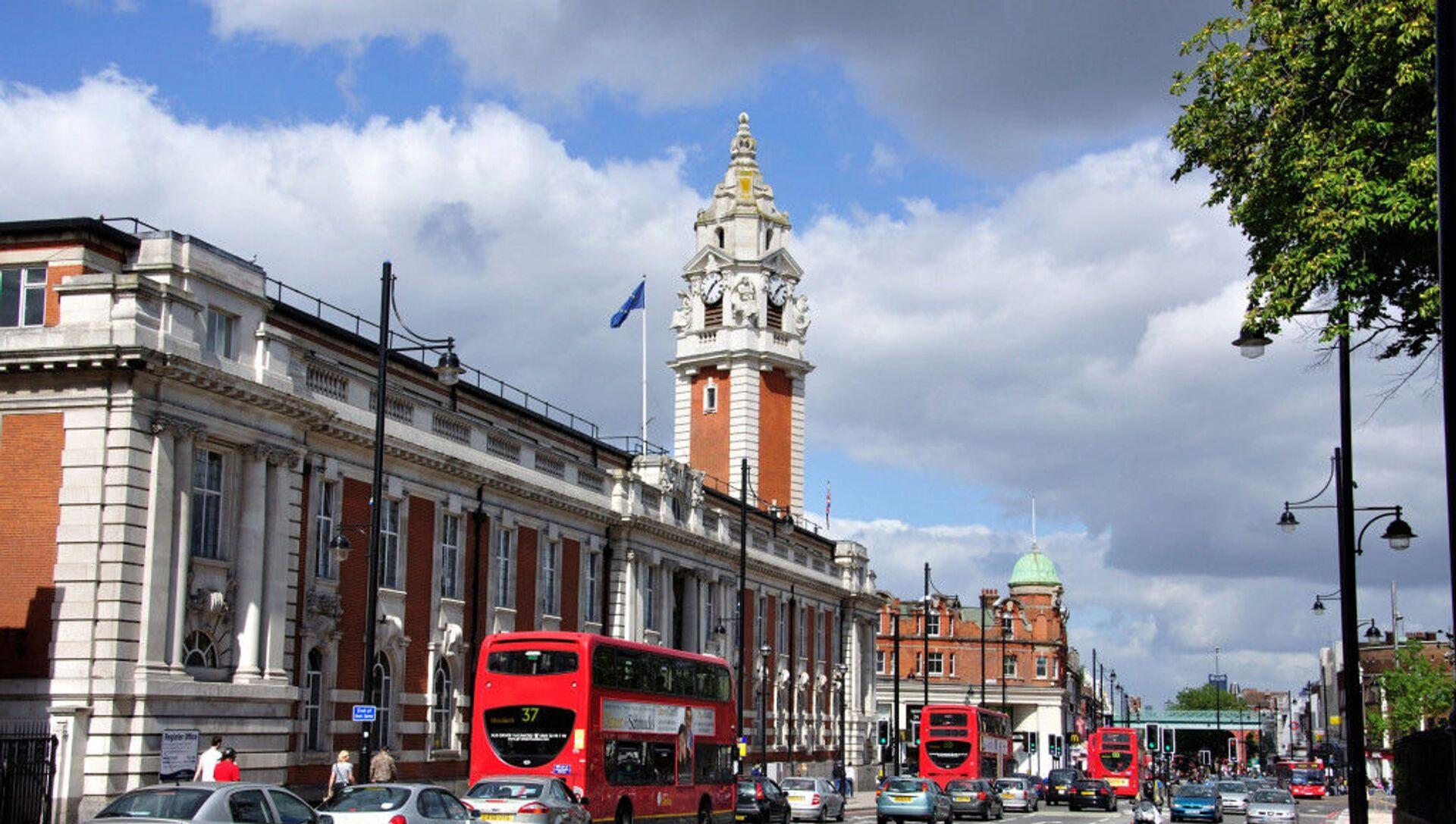 İngiltere'nin başkenti Londra'ya bağlı Lambeth Belediyesi - Sputnik Türkiye, 1920, 27.07.2021