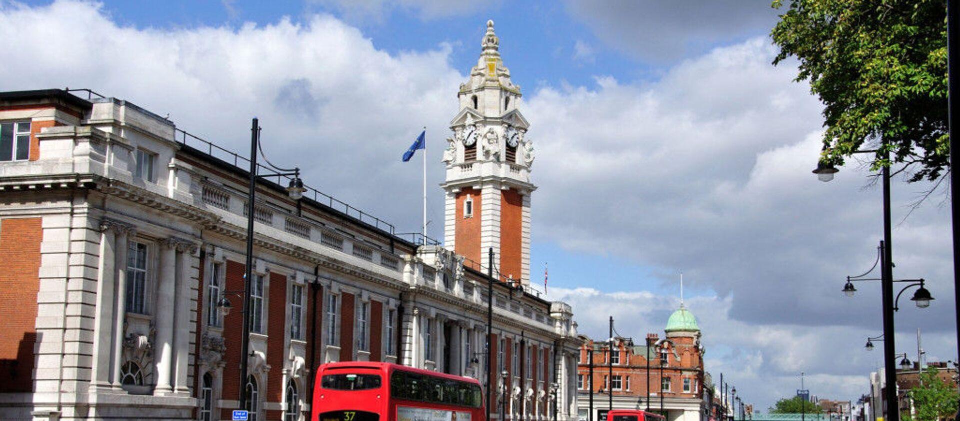 İngiltere'nin başkenti Londra'ya bağlı Lambeth Belediyesi - Sputnik Türkiye, 1920, 05.08.2021