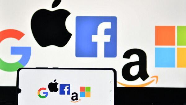 Google - Apple - Microsoft - Amazon - Facebook - Sputnik Türkiye