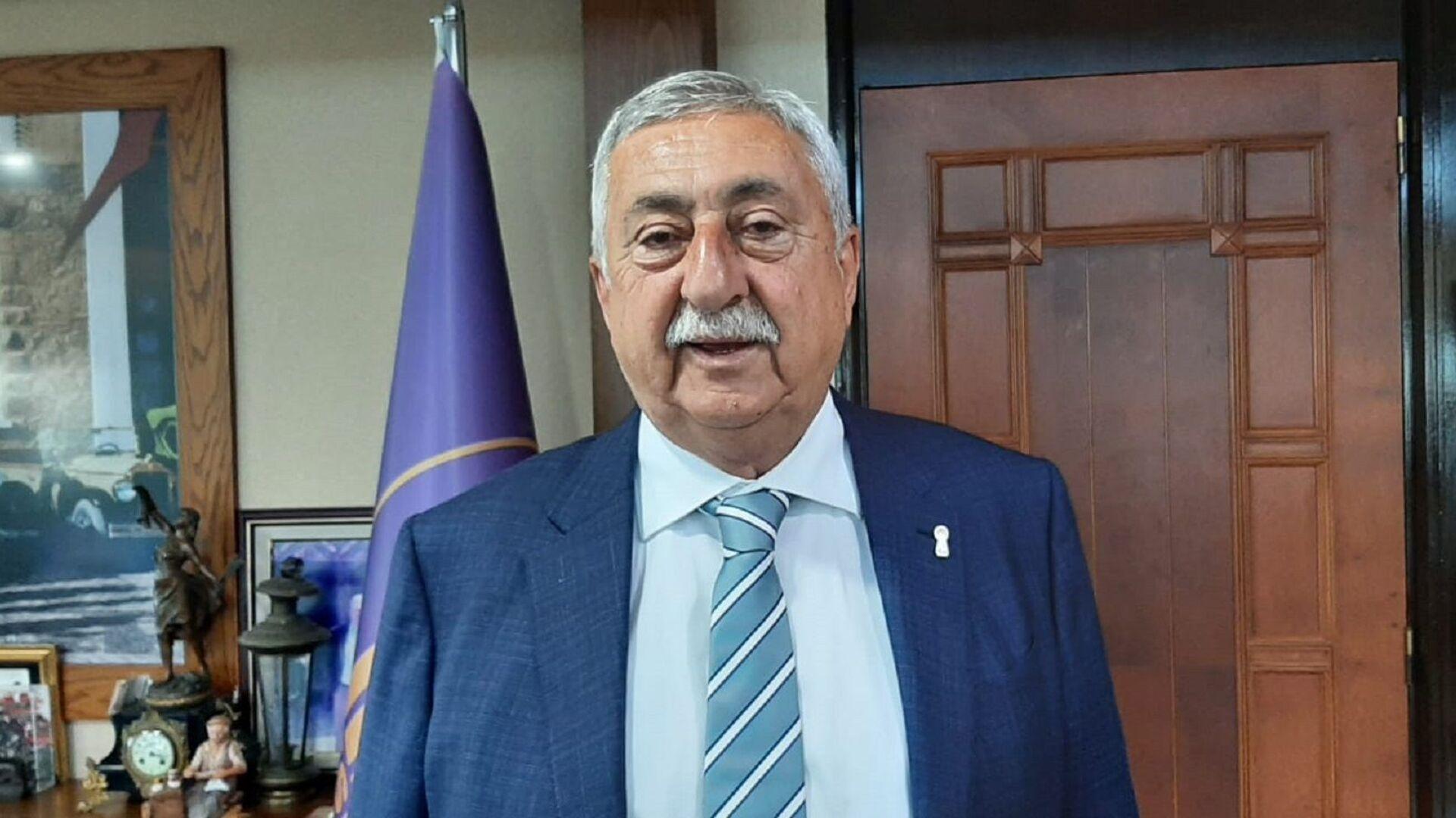 Türkiye Esnaf ve Sanatkarları Konfederasyonu (TESK) Genel Başkanı Bendevi Palandöken - Sputnik Türkiye, 1920, 28.07.2021