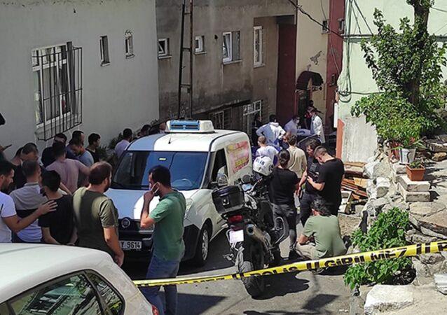 Beyoğlu'nda akrabalar arasındaki çatışma