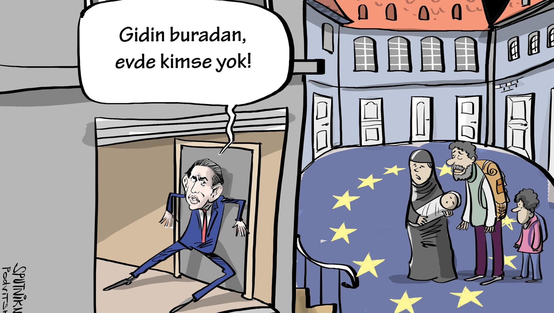 Karikatür - Sputnik Türkiye, 1920, 28.07.2021