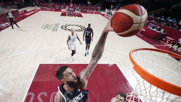 Tokyo 2020 erkek basketbolunda Fransa, çeyrek finale yükselen ilk takım oldu - Sputnik Türkiye