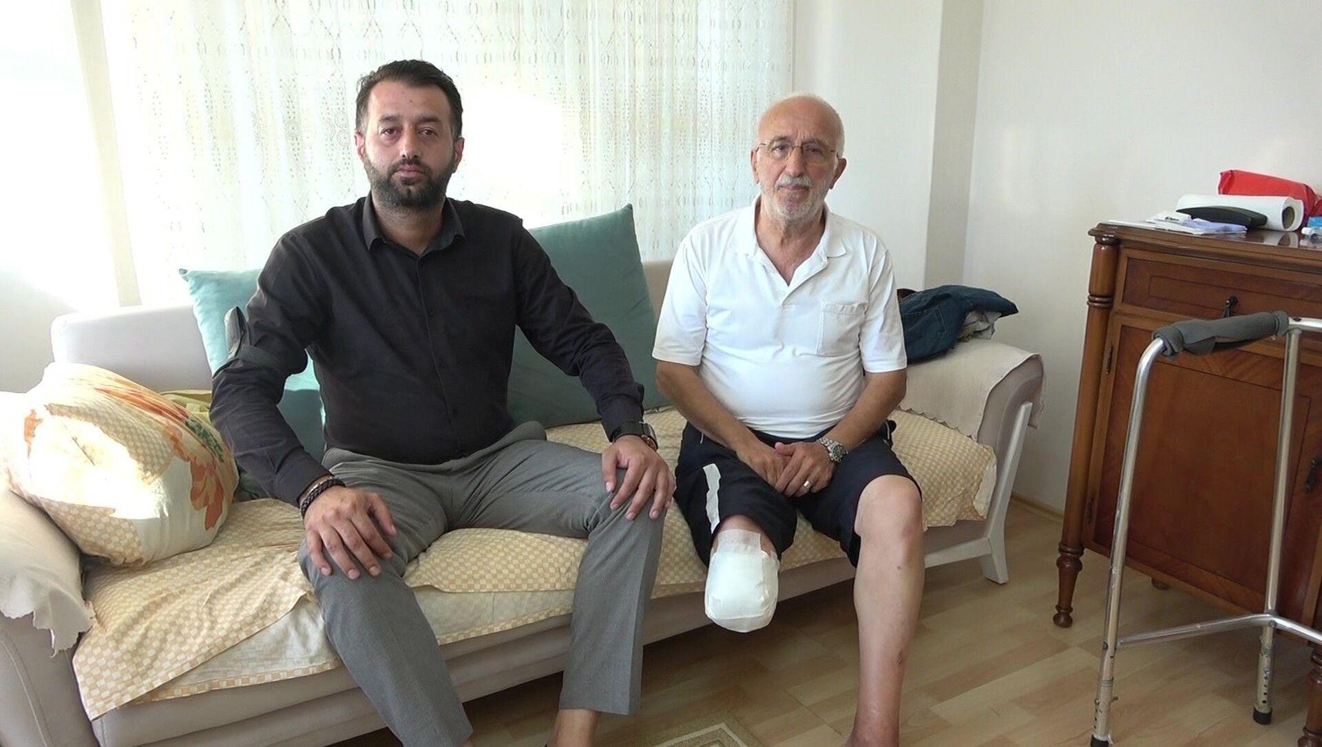 Samsun'da yaşlı adamı darp eden genç konuştu: Neden pişman olayım ki? - Sputnik Türkiye, 1920, 28.07.2021
