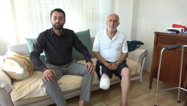 Samsun'da yaşlı adamı darp eden genç konuştu: Neden pişman olayım ki? - Sputnik Türkiye