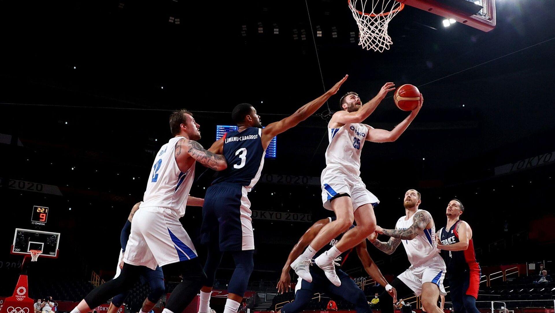 Fransa - Çekya - erkek basketbol takımı - Tokyo 2020 - Sputnik Türkiye, 1920, 29.07.2021