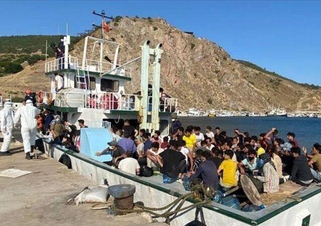 Düzensiz göçmen