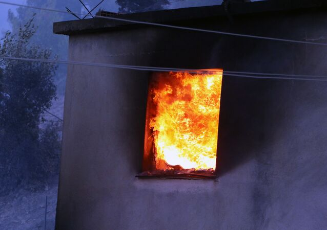 Adana - Kozan - yangın