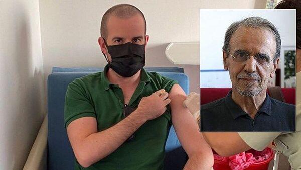Mehmet Ceyhan ve oğlu - Sputnik Türkiye