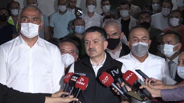 Tarım ve Orman Bakanı Bekir Pakdemirli - Sputnik Türkiye