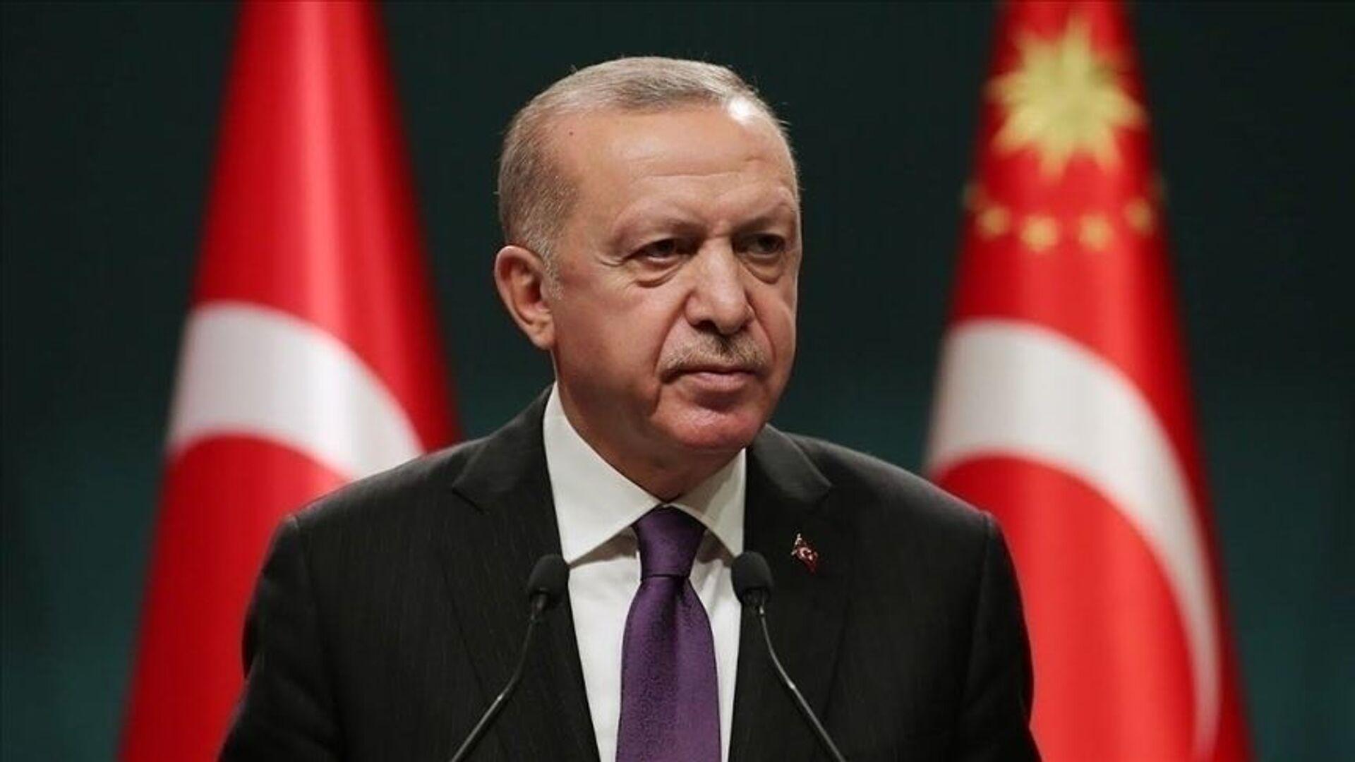 Recep Tayyip Erdoğan - Sputnik Türkiye, 1920, 25.08.2021