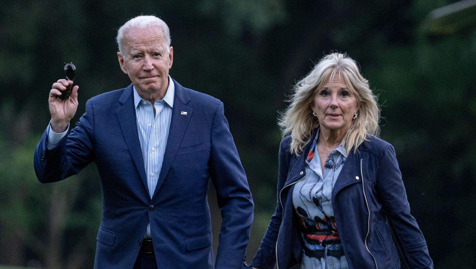 ABD Başkanı Joe Biden ve eşi First Lady Jill Biden - Sputnik Türkiye, 1920, 29.07.2021