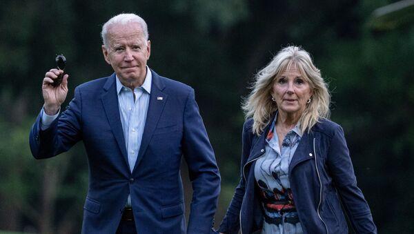 ABD Başkanı Joe Biden ve eşi First Lady Jill Biden - Sputnik Türkiye