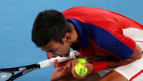 Novak Djokovic, Tokyo Olimpiyatı yarı finallerinde Alexander Zverev'e elendi - Sputnik Türkiye