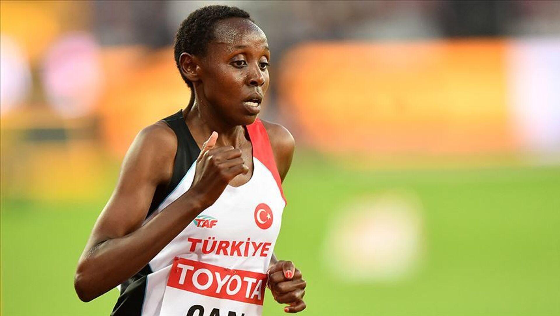 Milli atlet Yasemin Can - Sputnik Türkiye, 1920, 30.07.2021