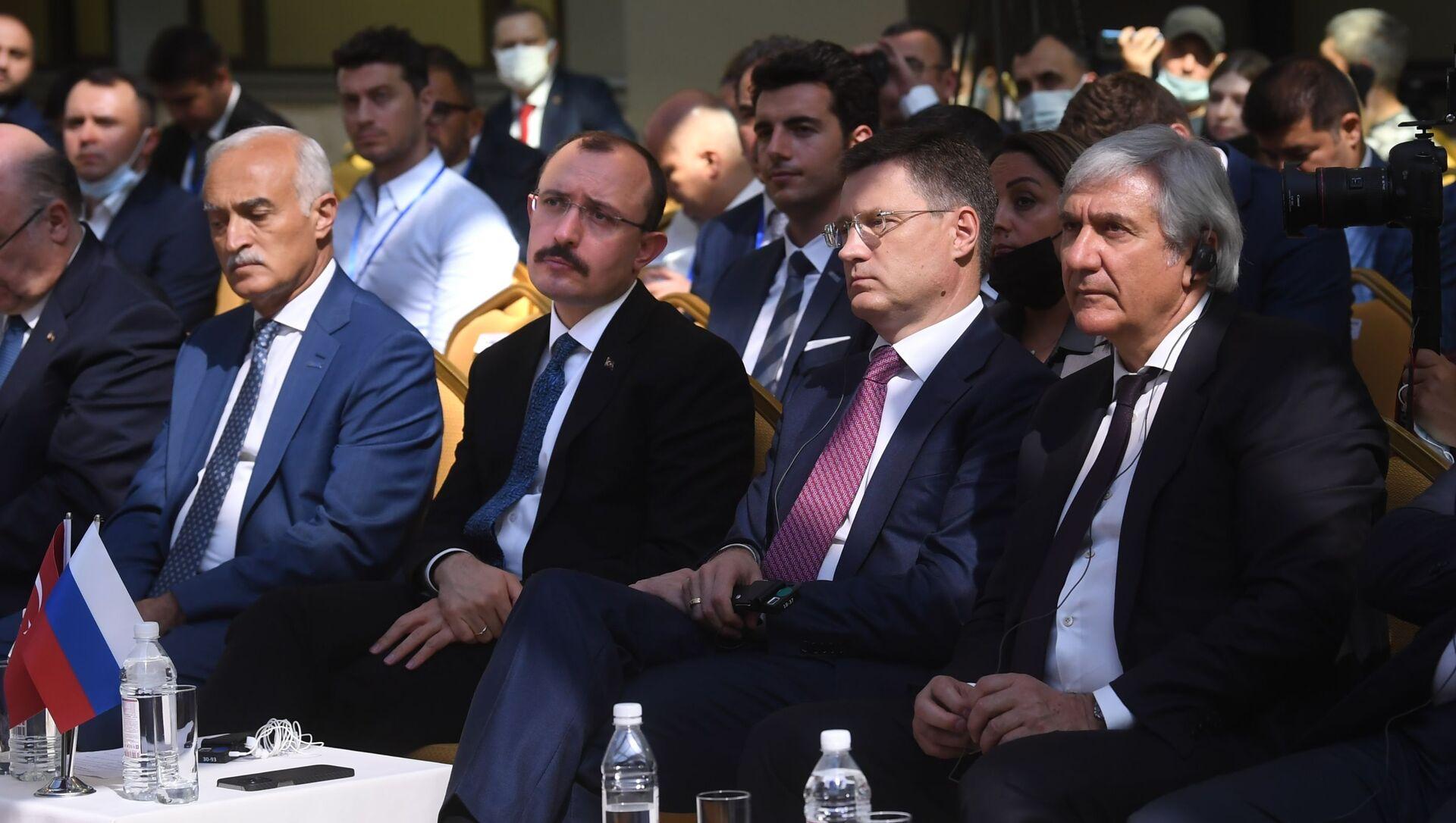 Moskova'da Rus-Türk İş Forumu başladı - Sputnik Türkiye, 1920, 30.07.2021