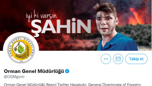 Orman Genel Müdürlüğü'nden İyi ki varsın Şahin mesajı - Sputnik Türkiye