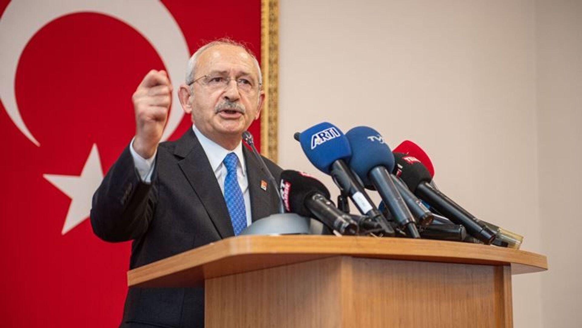 CHP Genel Başkanı Kılıçdaroğlu, Antalya Kriz Merkezi'nde konuştu: Her yıl 1 tane uçak alınsa bugün 19 uçağımız olacaktı - Sputnik Türkiye, 1920, 27.08.2021