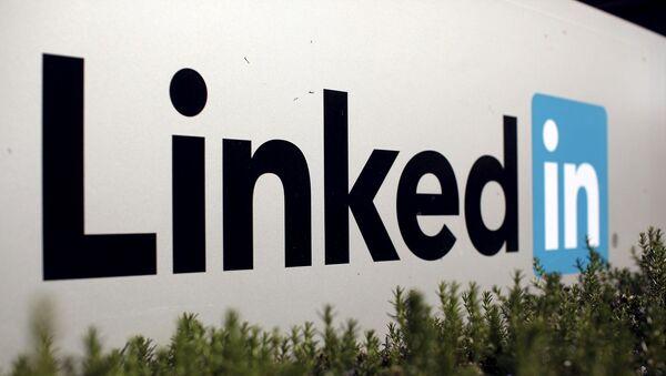 LinkedIn - logo - Sputnik Türkiye