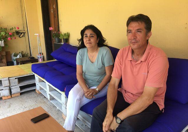 Mete Gazoz'un ailesi