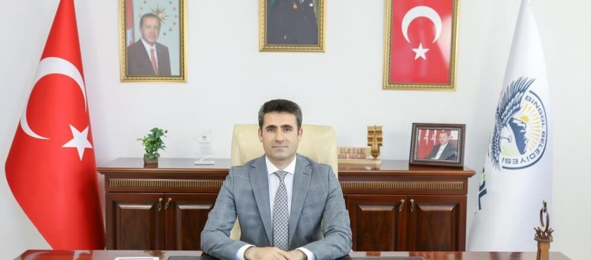 Bingöl Belediye Başkanı Erdal Arıkan - Sputnik Türkiye, 1920, 01.08.2021