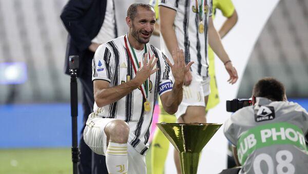 Juventus, kaptan Chiellini'nin sözleşmesini uzattı - Sputnik Türkiye