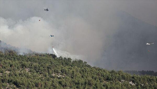 Türkiye-güney kesimler-orman yangını-helikopter - Sputnik Türkiye