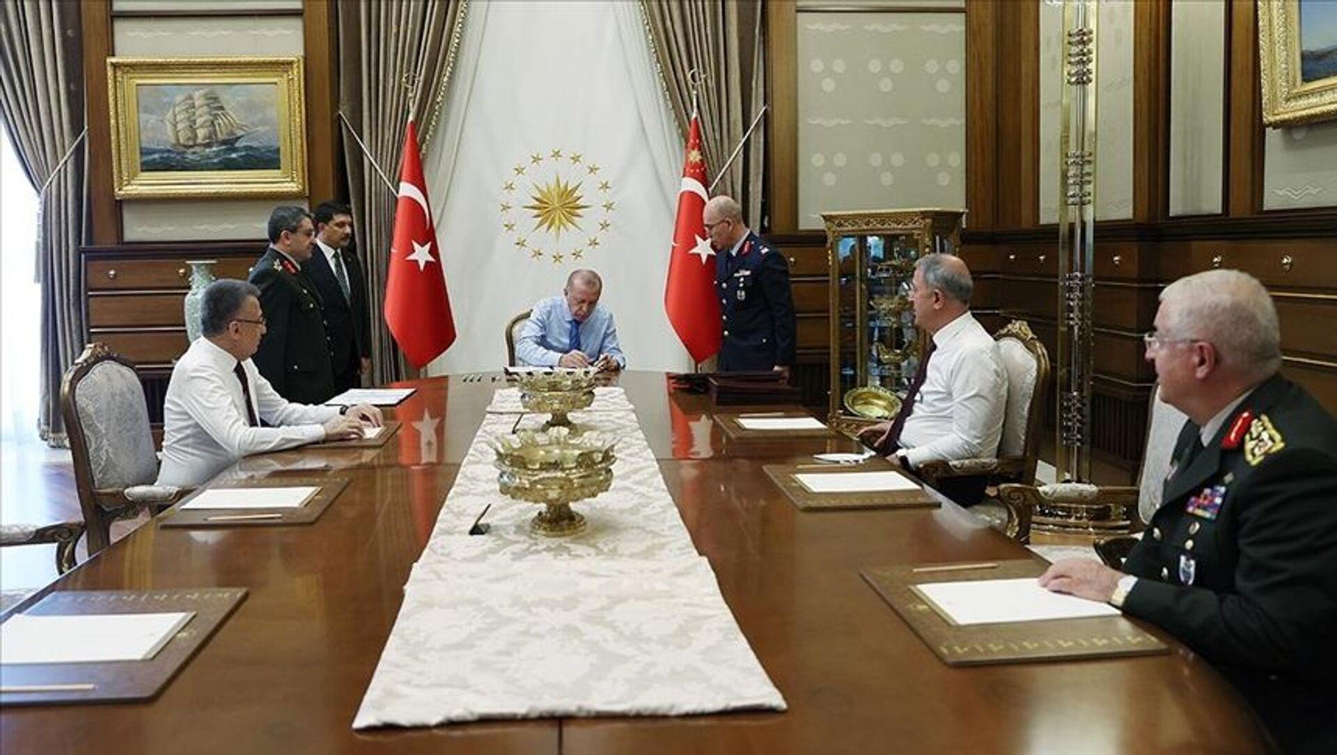 Yüksek Askeri Şura, Recep Tayyip Erdoğan - Sputnik Türkiye, 1920, 04.08.2021