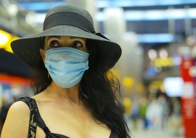 Rusya - Koronavirüs - Kovid-19 - Maske