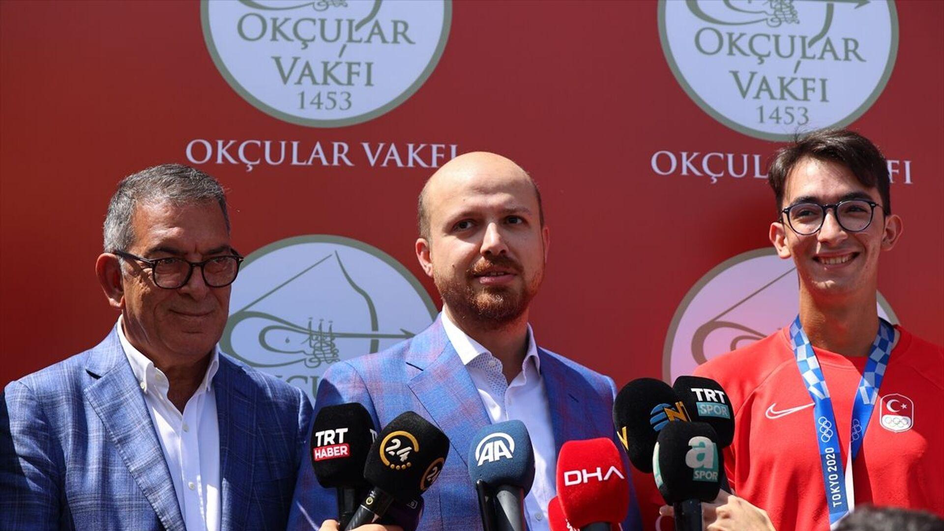 Bilal Erdoğan, Mete Gazoz - Sputnik Türkiye, 1920, 05.08.2021