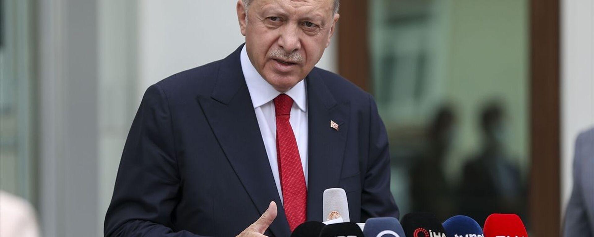 Recep Tayyip Erdoğan - Sputnik Türkiye, 1920, 29.08.2021