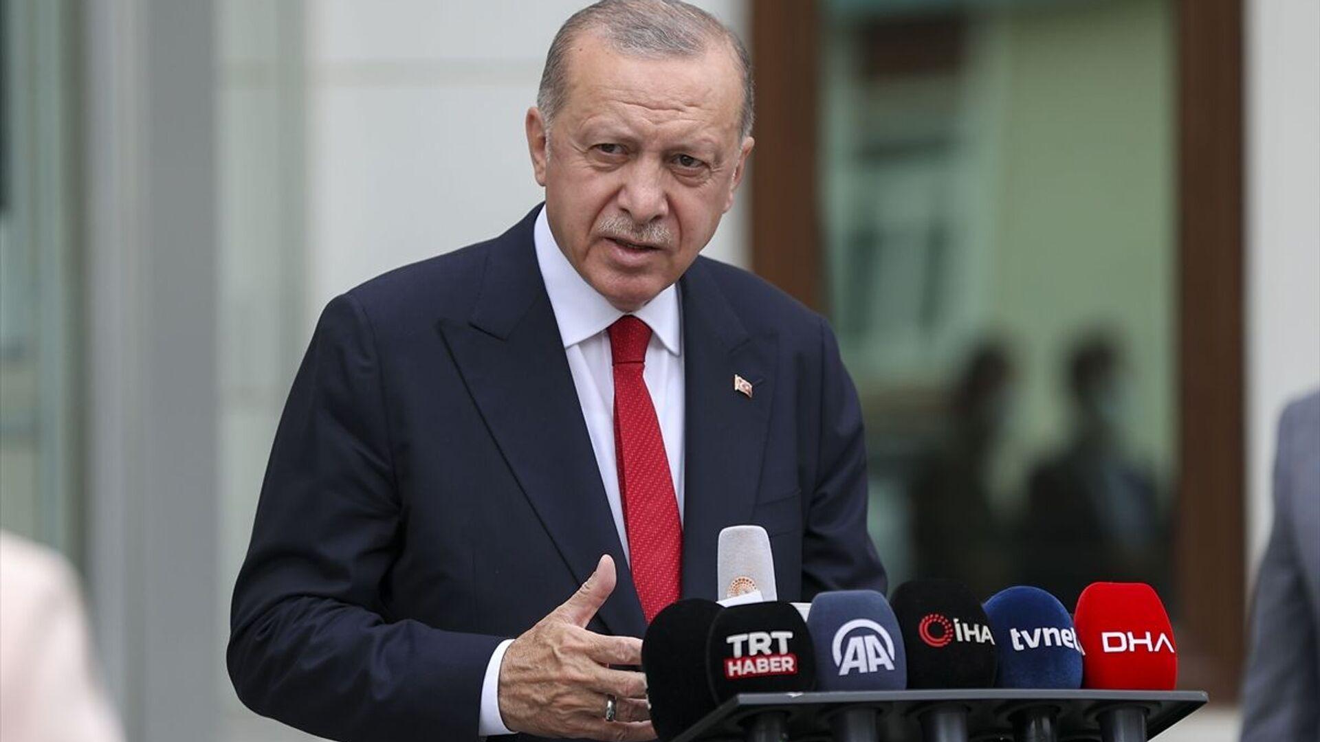 Recep Tayyip Erdoğan - Sputnik Türkiye, 1920, 12.08.2021