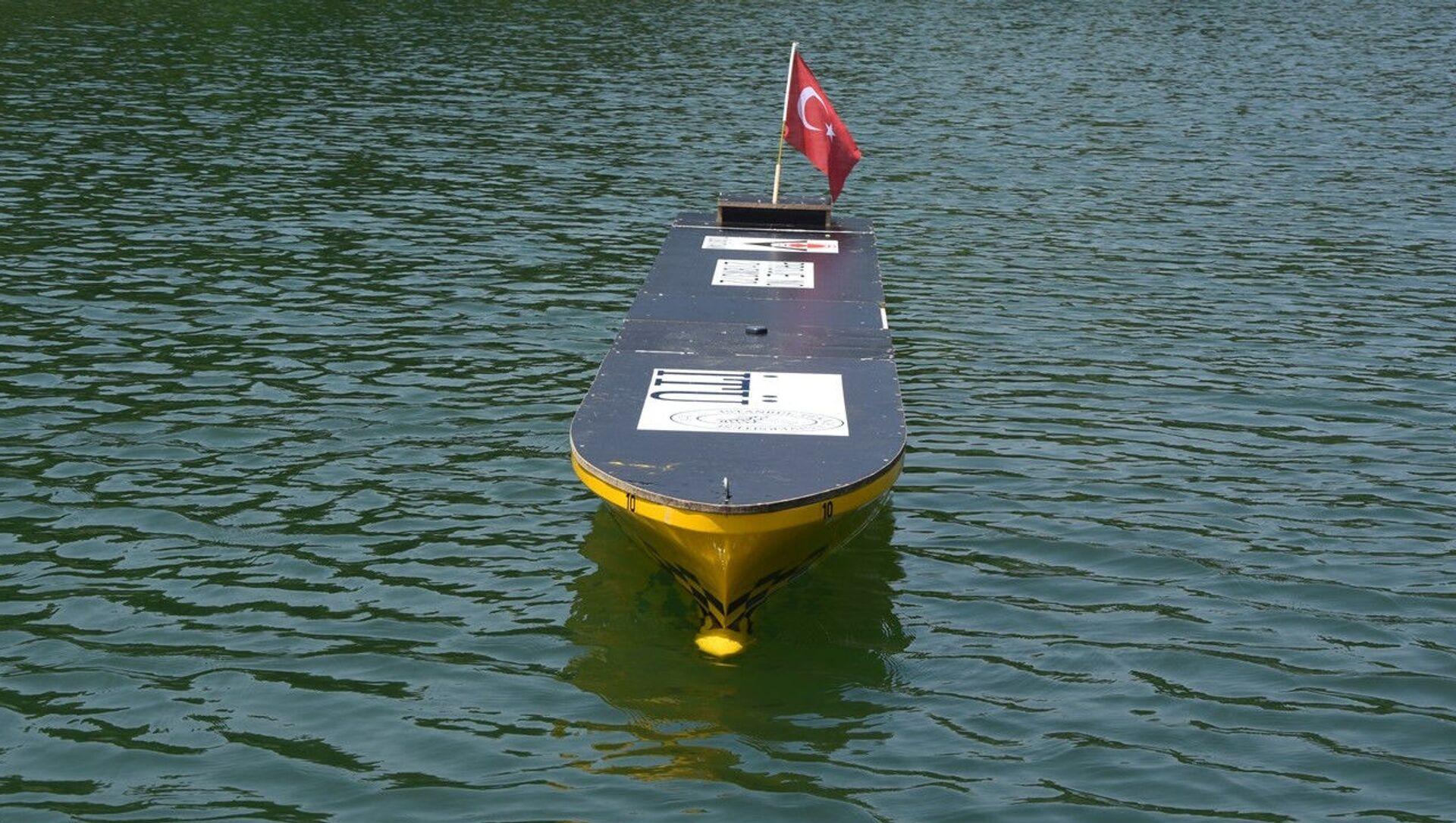 İTÜ otonom gemi - Sputnik Türkiye, 1920, 07.08.2021