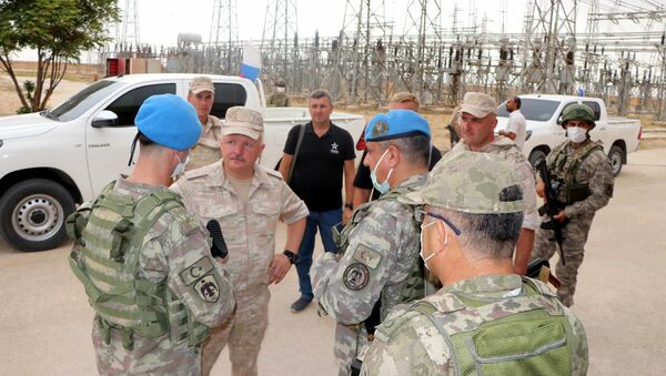 Türk ve Rus askerleri, Resulayn, ortak inceleme - Sputnik Türkiye