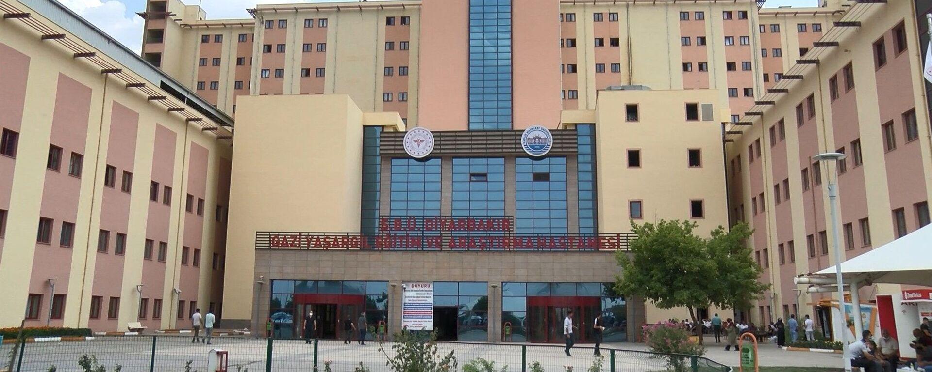 Diyarbakır Gazi Yaşargil Eğitim ve Araştırma Hastanesi - Sputnik Türkiye, 1920, 09.08.2021
