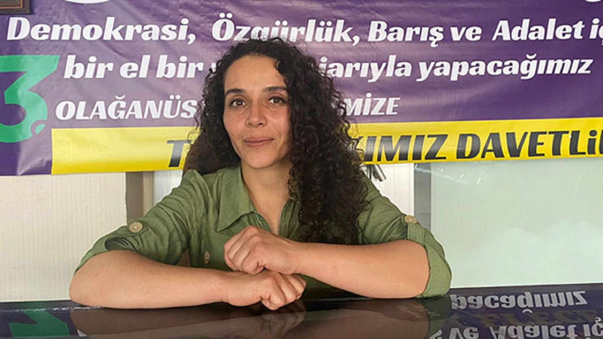 Muş'ta HDP İl Eş Başkanı Belma Nergiz - Sputnik Türkiye, 1920, 11.08.2021