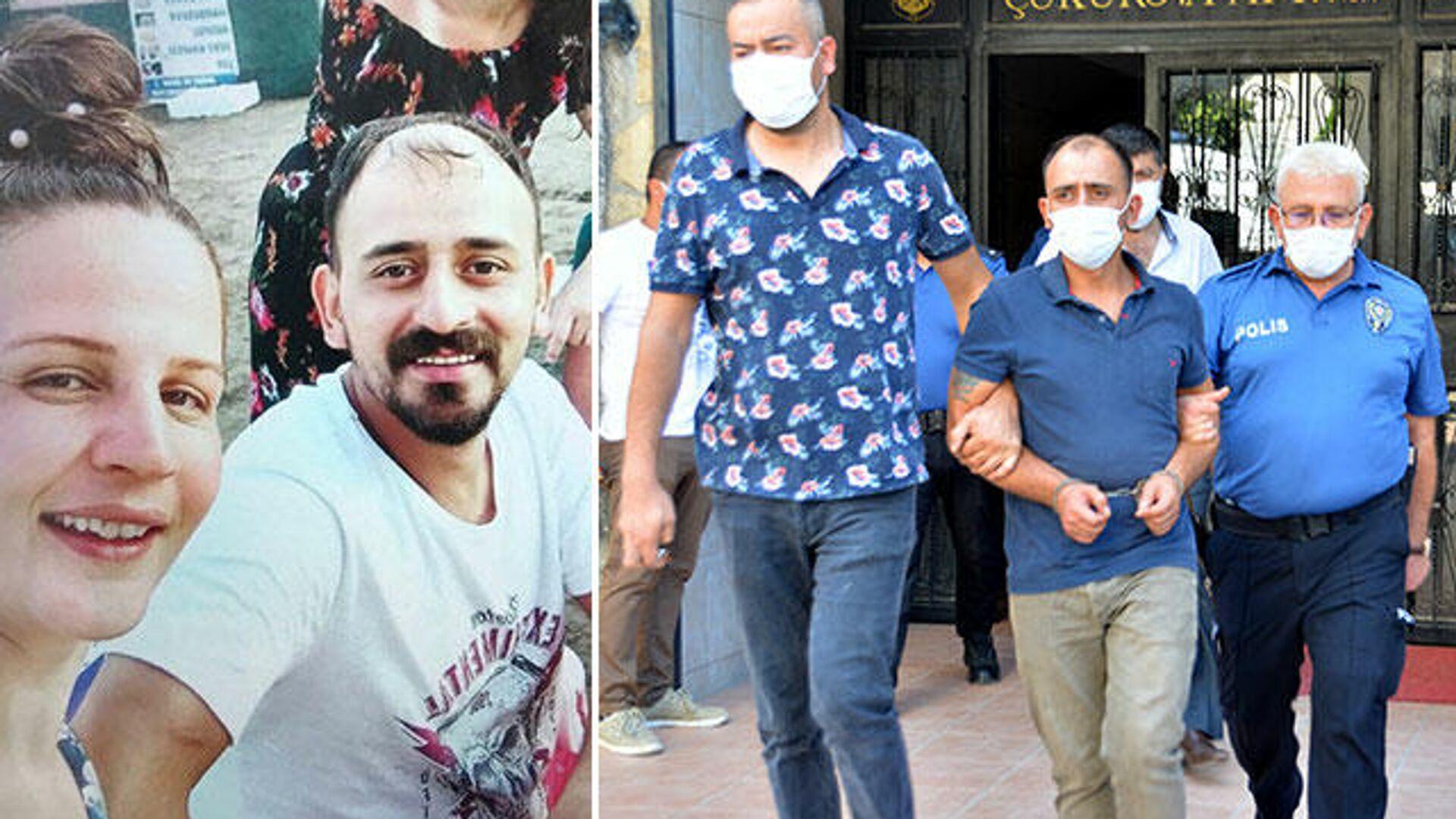 Ozan Özten eşini öldürüp polise teslim oldu - Sputnik Türkiye, 1920, 15.08.2021