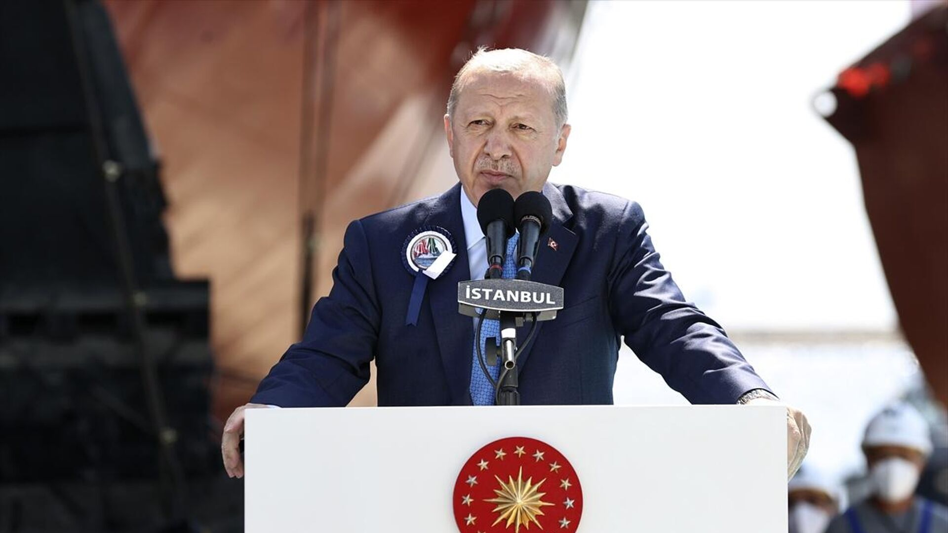 Recep Tayyip Erdoğan - Sputnik Türkiye, 1920, 15.08.2021