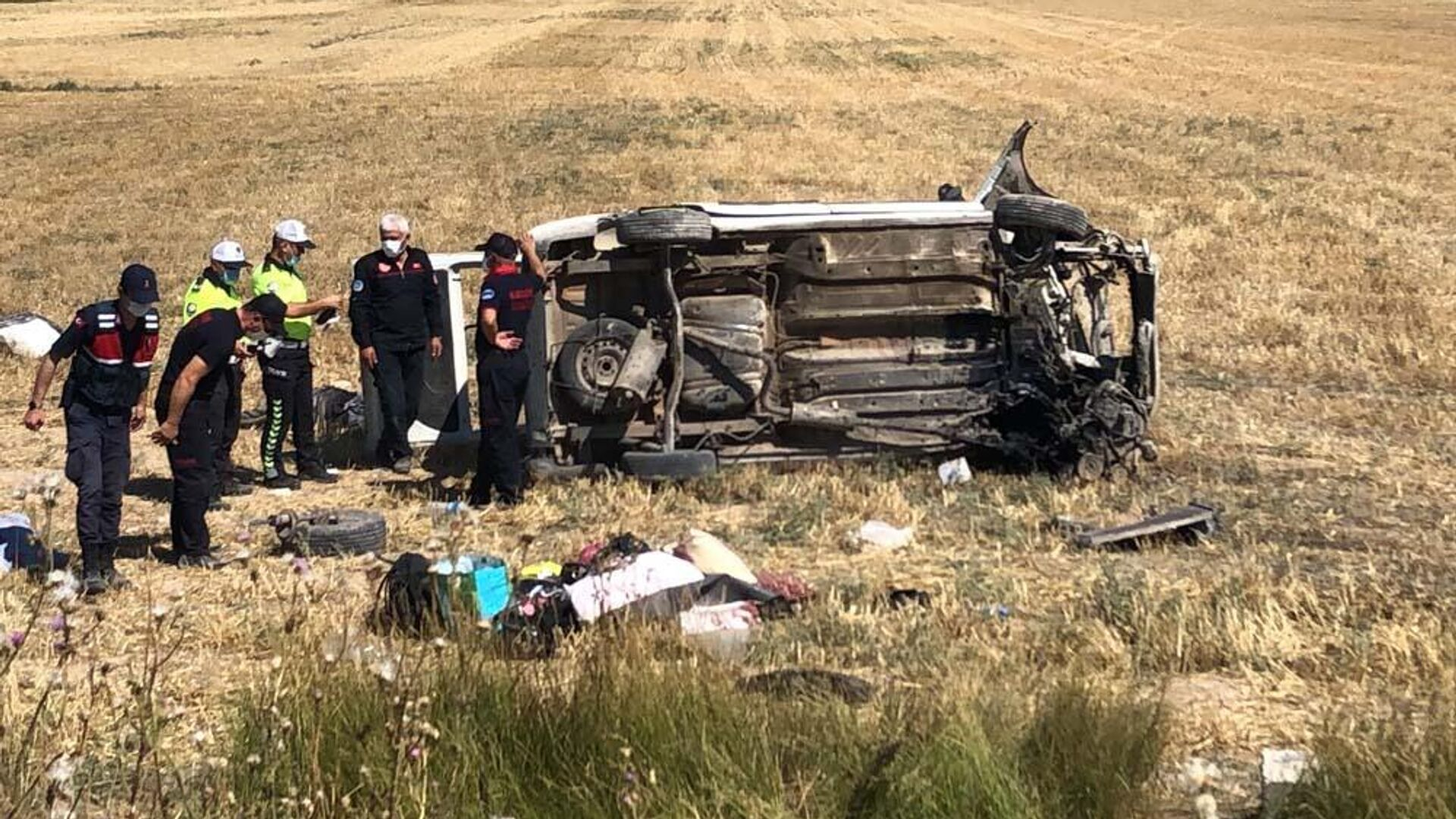 Kayseri'de kaza: 4 ölü, 10 yaralı - Sputnik Türkiye, 1920, 19.08.2021