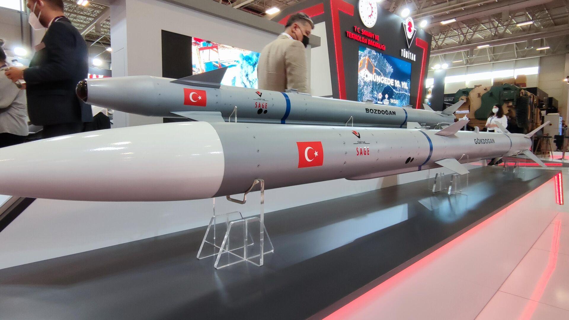 Gökdoğan ve Bozdoğan Hava Hava Füzeleri - Sputnik Türkiye, 1920, 20.08.2021