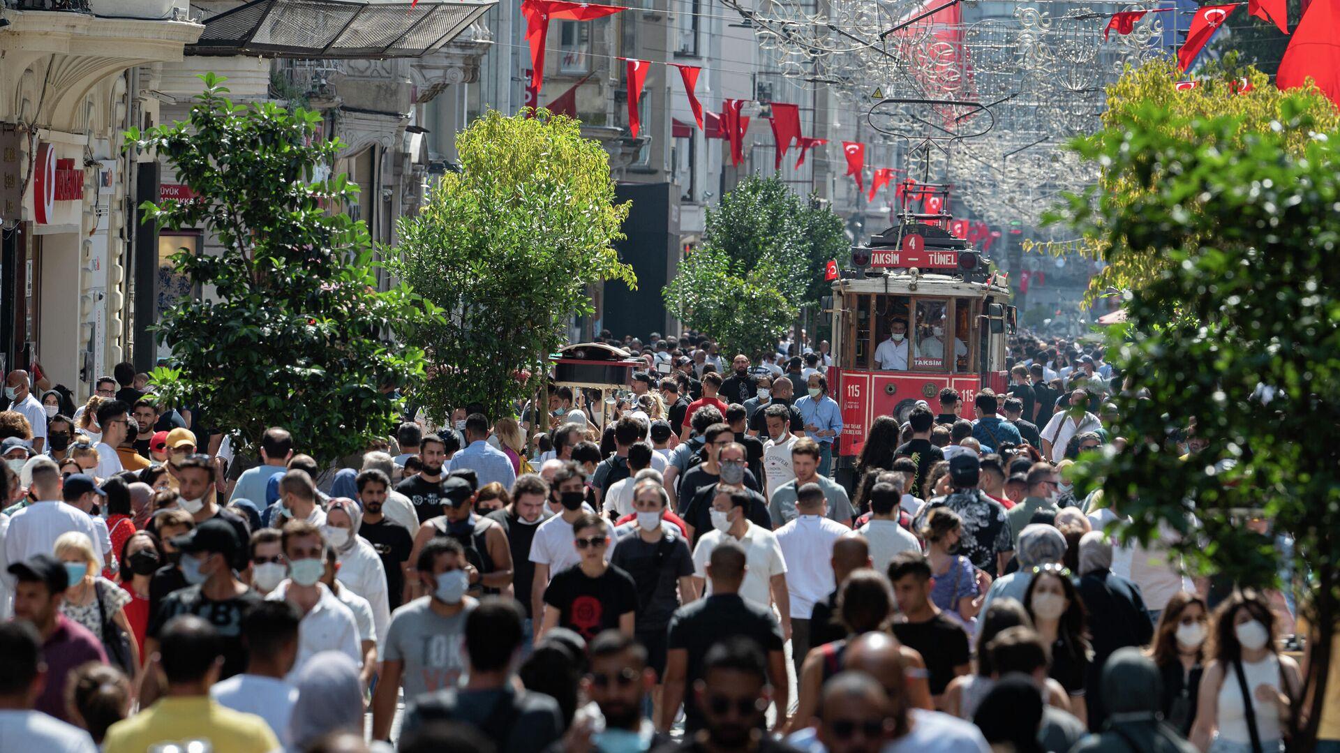 İstanbul, İstiklal Caddesi, vaka - Sputnik Türkiye, 1920, 25.08.2021