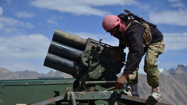 Афганское движение сопротивления в провинции Панджшер, Афганистан - Sputnik Türkiye