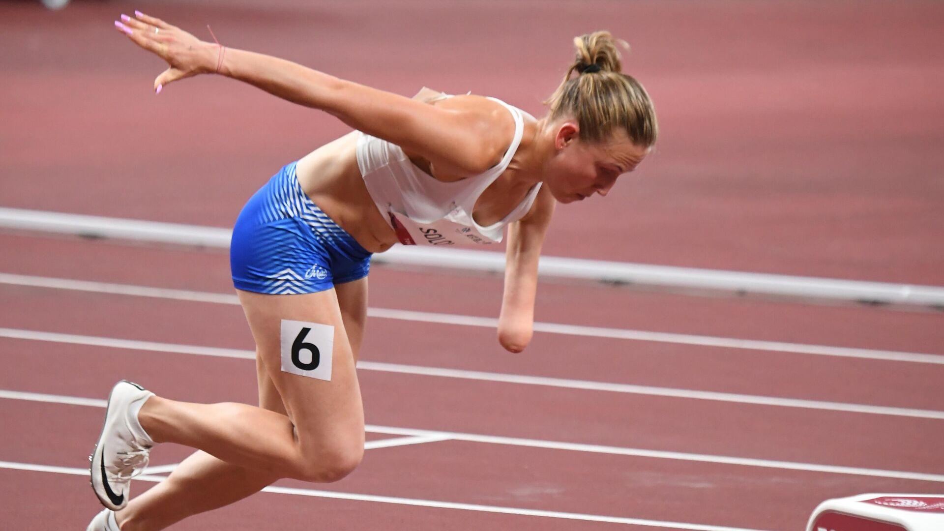 Rus atlet Anastasya Solovyova - Sputnik Türkiye, 1920, 29.08.2021